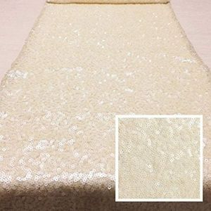 Other - Ivory Sequin Tablerunners 12 x 144